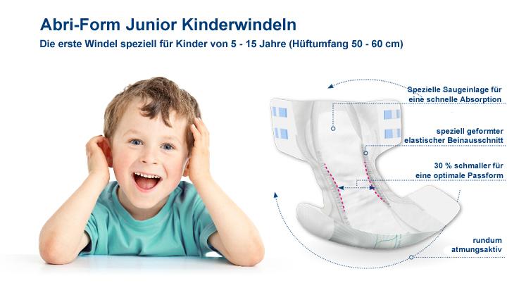 Werbung Abena Abri Form Junior
