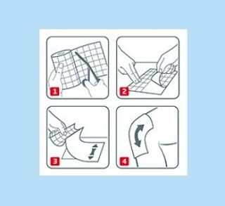 Anwendung Curapor Wundpflaster Anleitung
