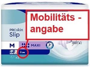 Bild Mobilitätskennzeichnung